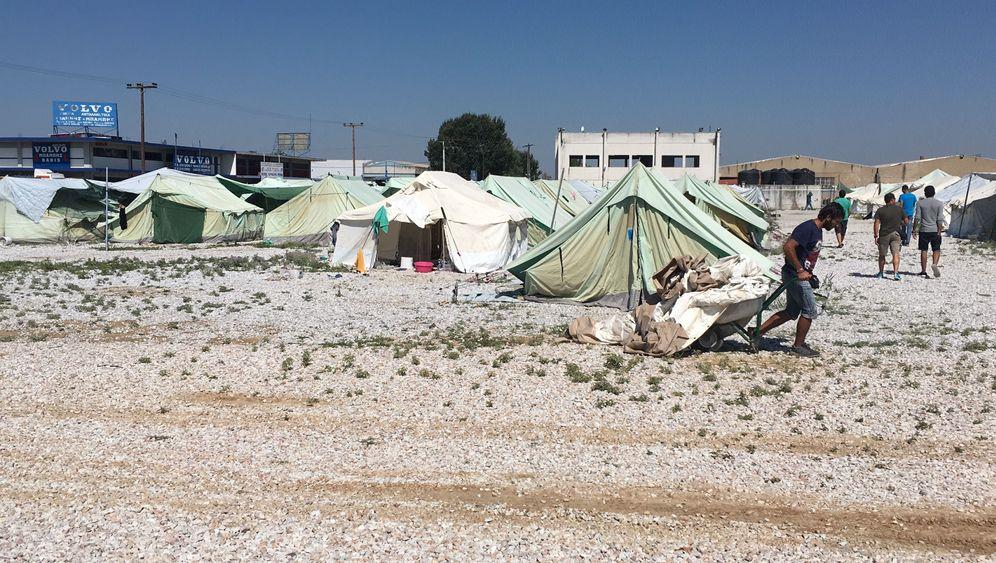 Flüchtlingslager: Nichts als Hitze und Staub