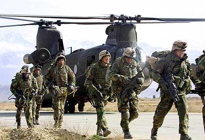 """US-Soldaten auf der Luftwaffenbasis Bagram: """"Wir werden hier noch lange bleiben."""""""