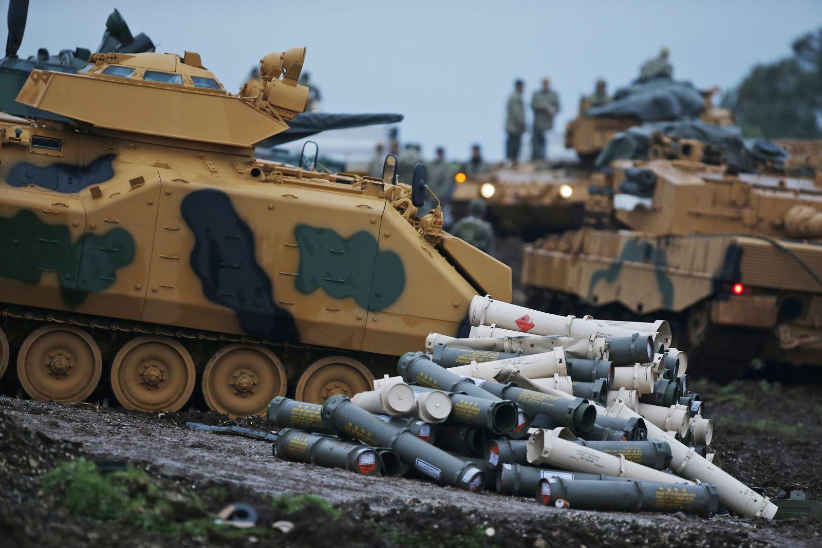 Afrin/ Türkei/ Angriff/ Kurden