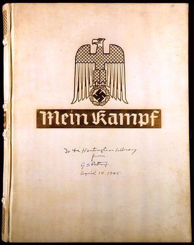 """""""Mein Kampf""""-Ausgabe von 1945: Ein Renner in den Bücherhallen"""