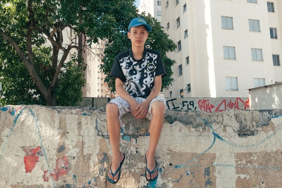 Pablo, 18, aus São Paulo: Gerade war er von zu Hause ausgezogen, da kam die Pandemie. Er verlor erst seinen Job, dann sein Zimmer