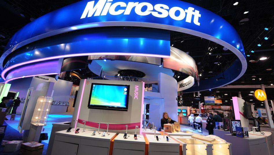 """Software-Konzern Microsoft: """"Wir sind begeistert von dem Zuspruch der Verbraucher"""""""