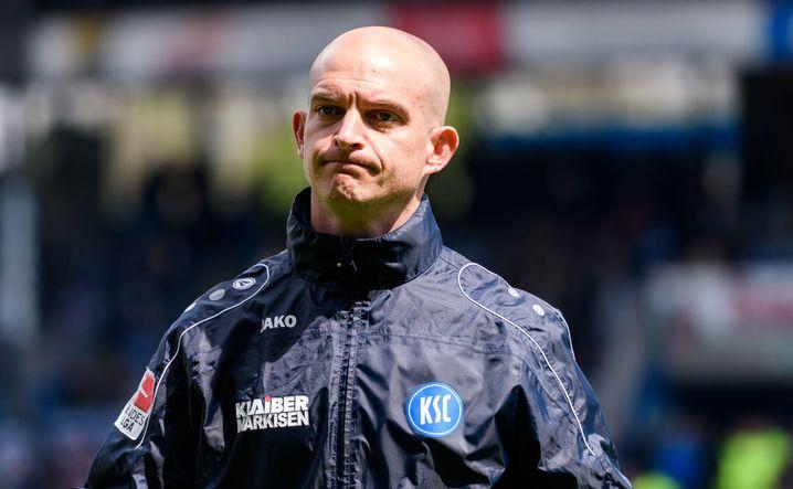 Der jetzige KSC-Trainer Marc-Patrick Meister