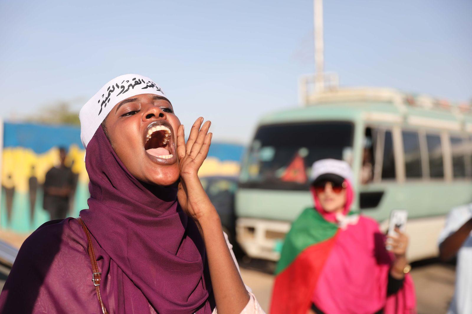 Sudan Revolution Frauen Baschir