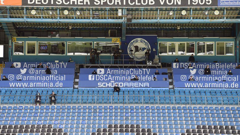 Wird nicht länger von Tönnies gesponsert: Bundesliga-Aufsteiger Arminia Bielefeld