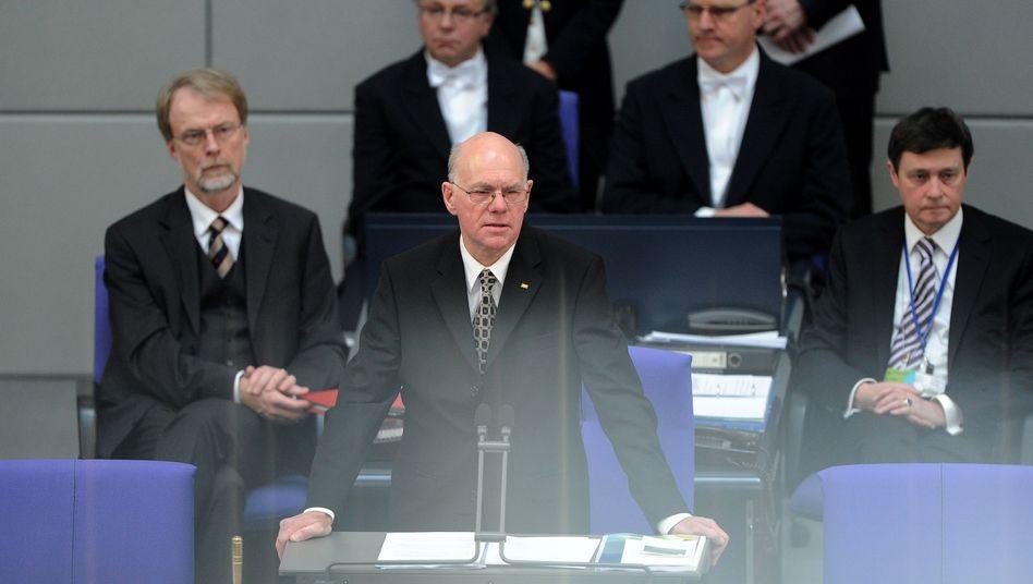 """Bundestagspräsident Lammert (CDU): """"Die Initiative von Google ist dreist"""""""
