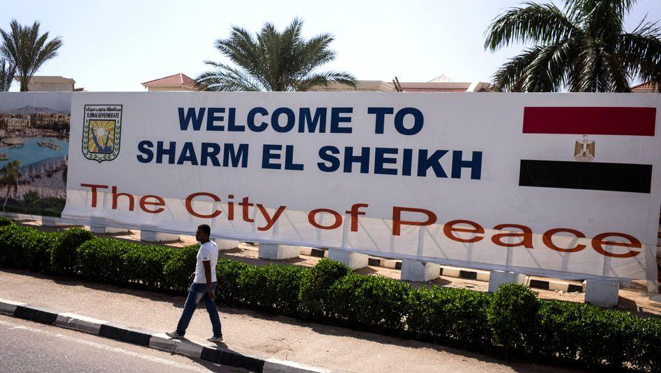 Besucher erwünscht: Die Stadt Scharm al-Scheich lebt vom Tourismus