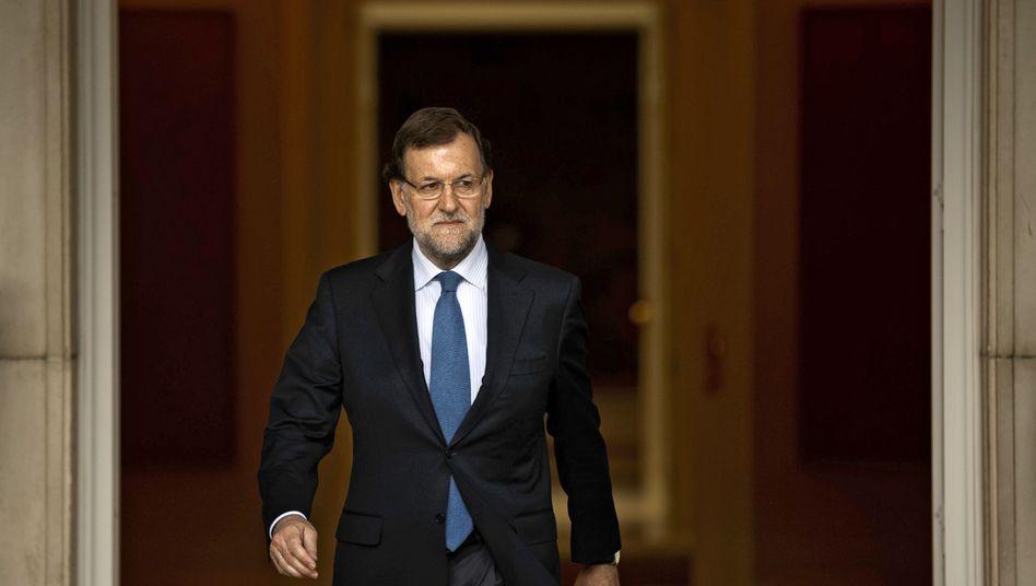 Mariano Rajoy: Will weniger sparen