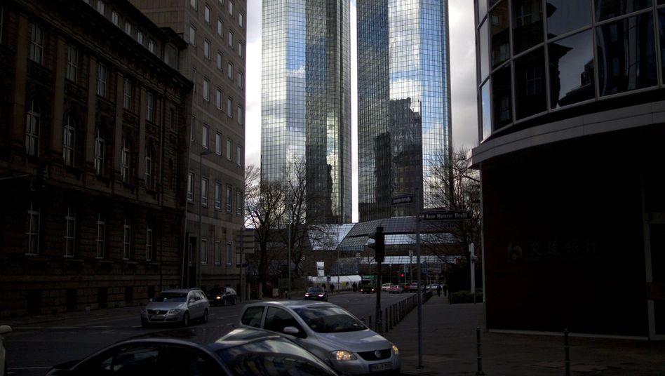 Deutsche-Bank-Zentrale in Frankfurt: Einladung zur Geheimkonferenz