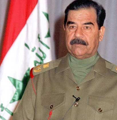 Saddam Hussein soll dem Plan zufolge schnellstmöglich ausgeschaltet werden