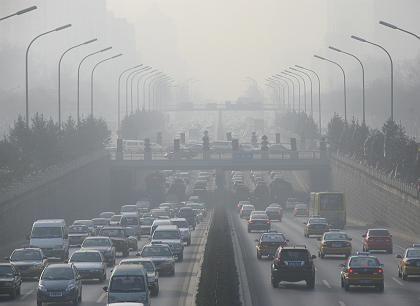 Smog in Peking: Mit strengen Regeln gegen Abgase