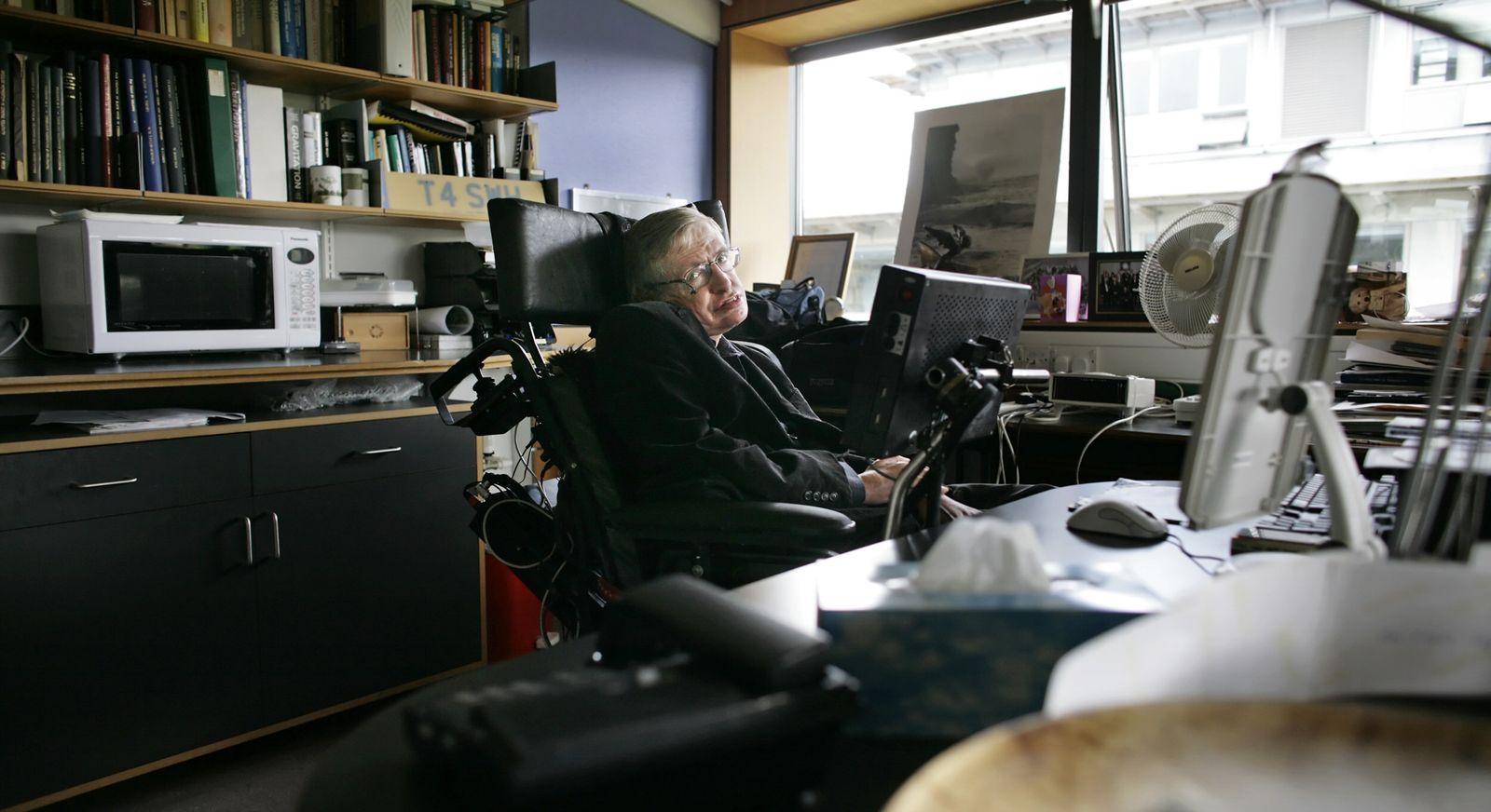 Nachruf/ Stephen Hawking/ 2007