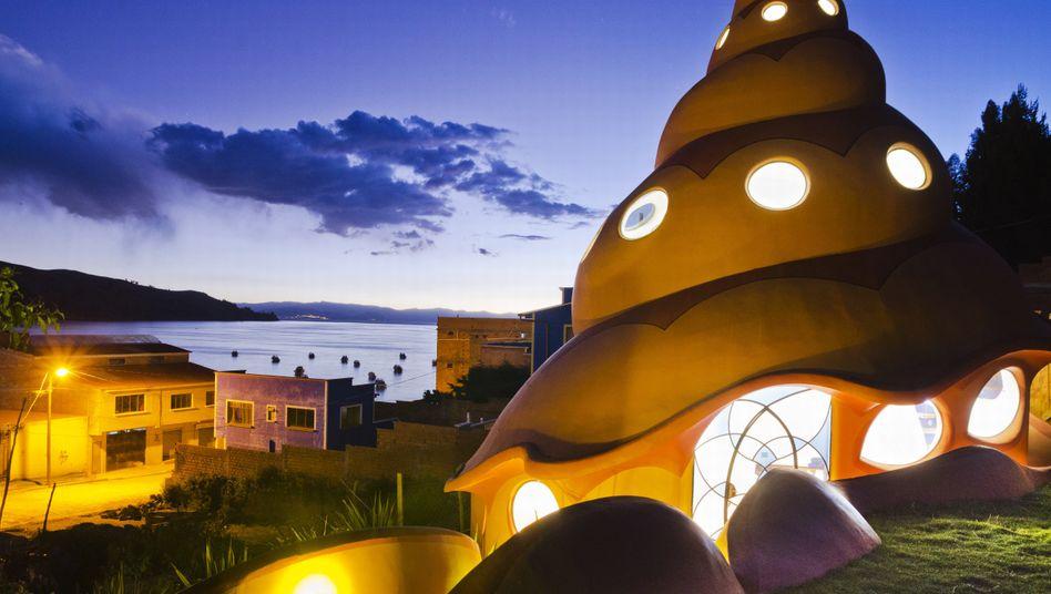 """""""Las Olas"""", die Wellen, hat Martin Strätker sein zweites Bauprojekt in Bolivien genannt"""