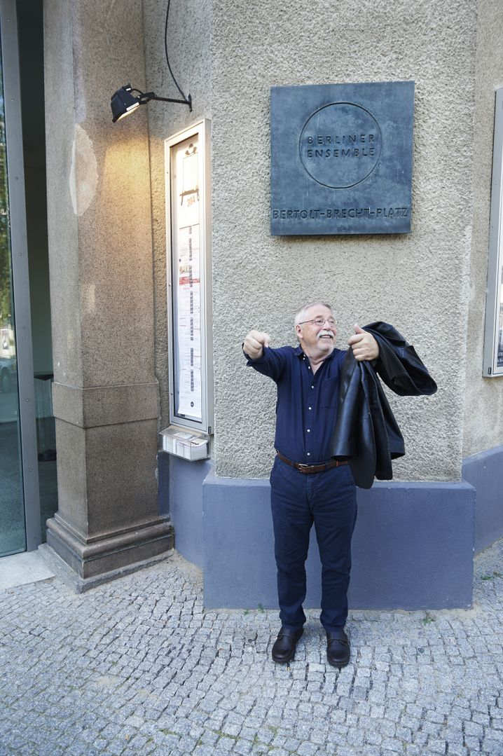 Schriftsteller Biermann in Berlin