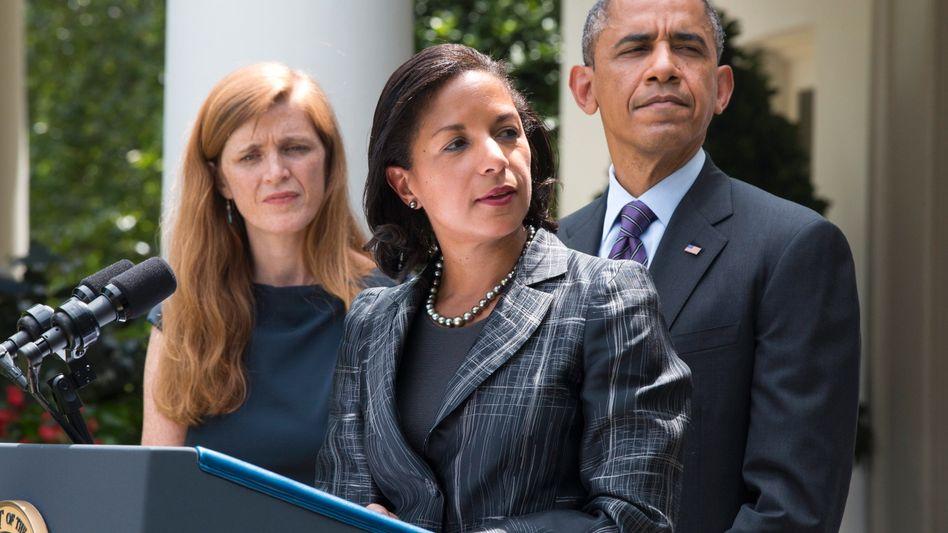 """Power, Rice, Obama: """"Ich wusste, dass ich für dich arbeiten wollte"""""""