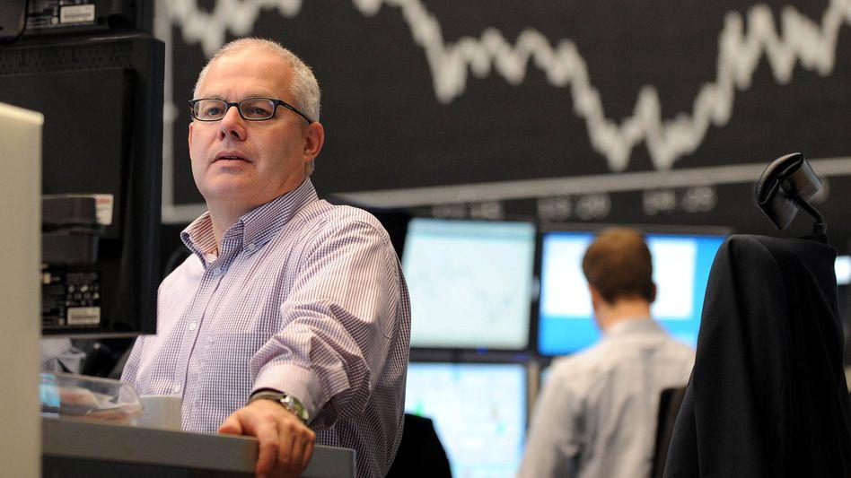 """Börsenhändler in Frankfurt: """"Dümmliche Erklärungsversuche in Form von Gerüchten"""""""