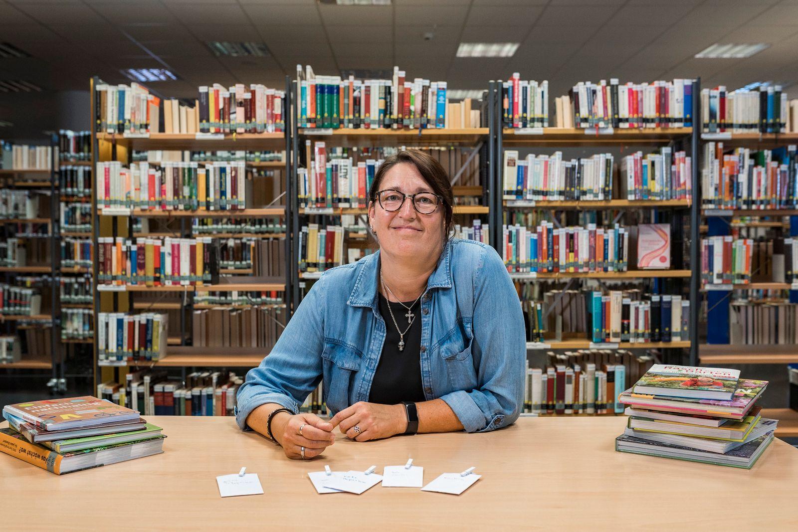 Melanie Heine, Leiterin der Stadtbibliothek in Castrop-Rauxel