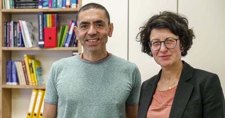 Biontech-Gründer Uğur Şahin und Özlem Türeci: Es sieht so aus, als würde uns diesmal die Klugheit der Wissenschaftler retten