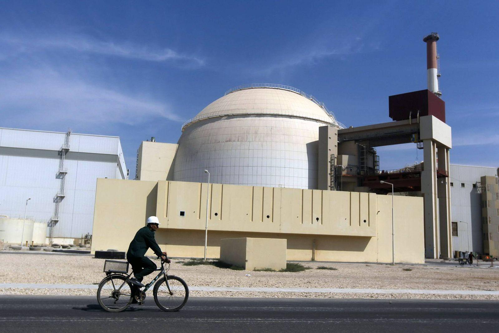 EINMALIGE VERWENDUNG Iran/ Atomwerk/ Bushehr nuclear power plant