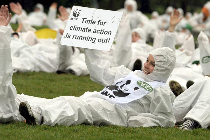 """Umwelt-Aktivistin in Bonn (am 6. Juni): """"Die Aktionen sollen verpflichtend sein."""""""