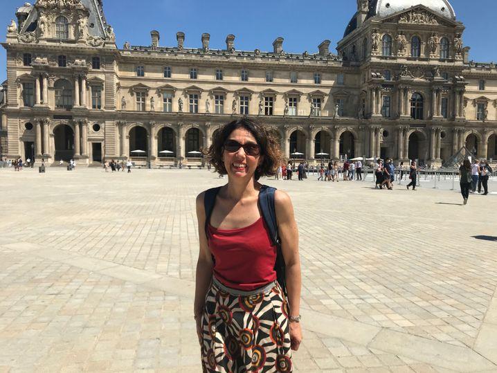 """Reiseleiterin Athina Nalbant: """"Wissen Sie, ich habe mich so sehr über diese Gruppe aus England gefreut"""""""