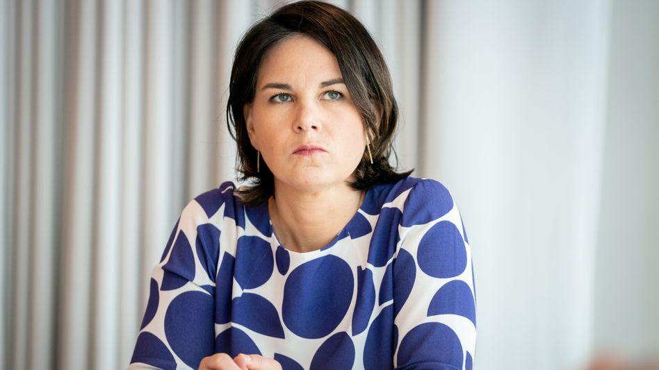 Grüne Kanzlerkandidatin Baerbock: »Das war falsch und das tut mir leid«