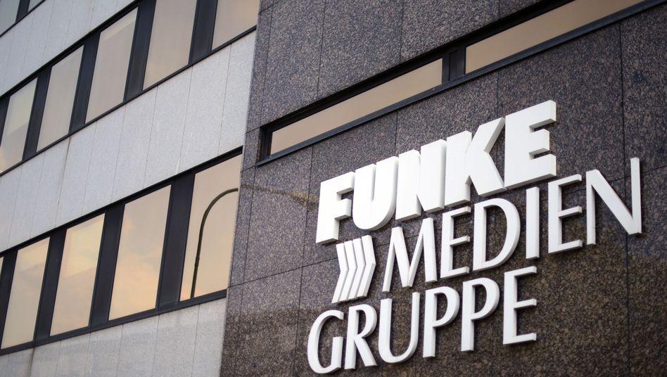 Zentrale der Funke Medien Gruppe in Essen: Verkauf von Lokalausgaben