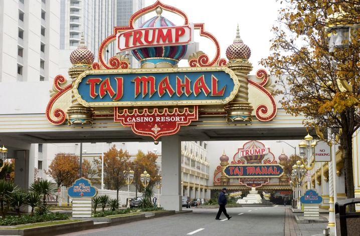 Trumps früheres Pleite-Casino