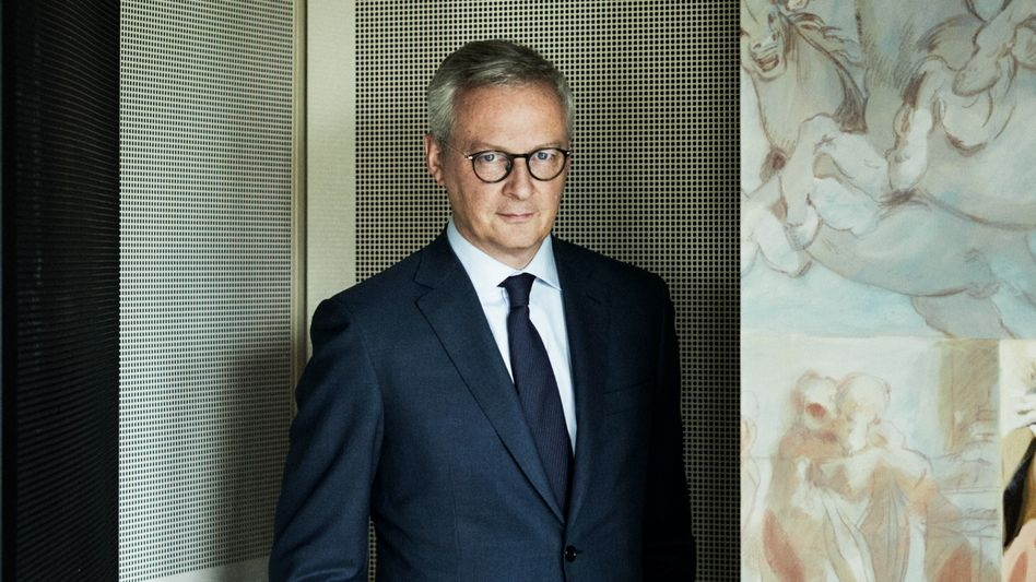 """French Finance Minister Bruno Le Maire: """"Solidarity at the European level is crucial for a political relaunch in Europe."""""""