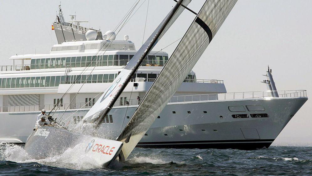 Larry Ellison: Das Schiff vom Boss