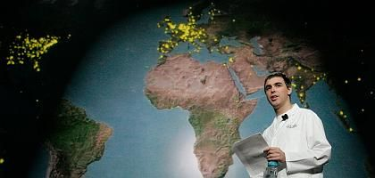 Google-Gründer Page: Globale Dominanz-Strategie