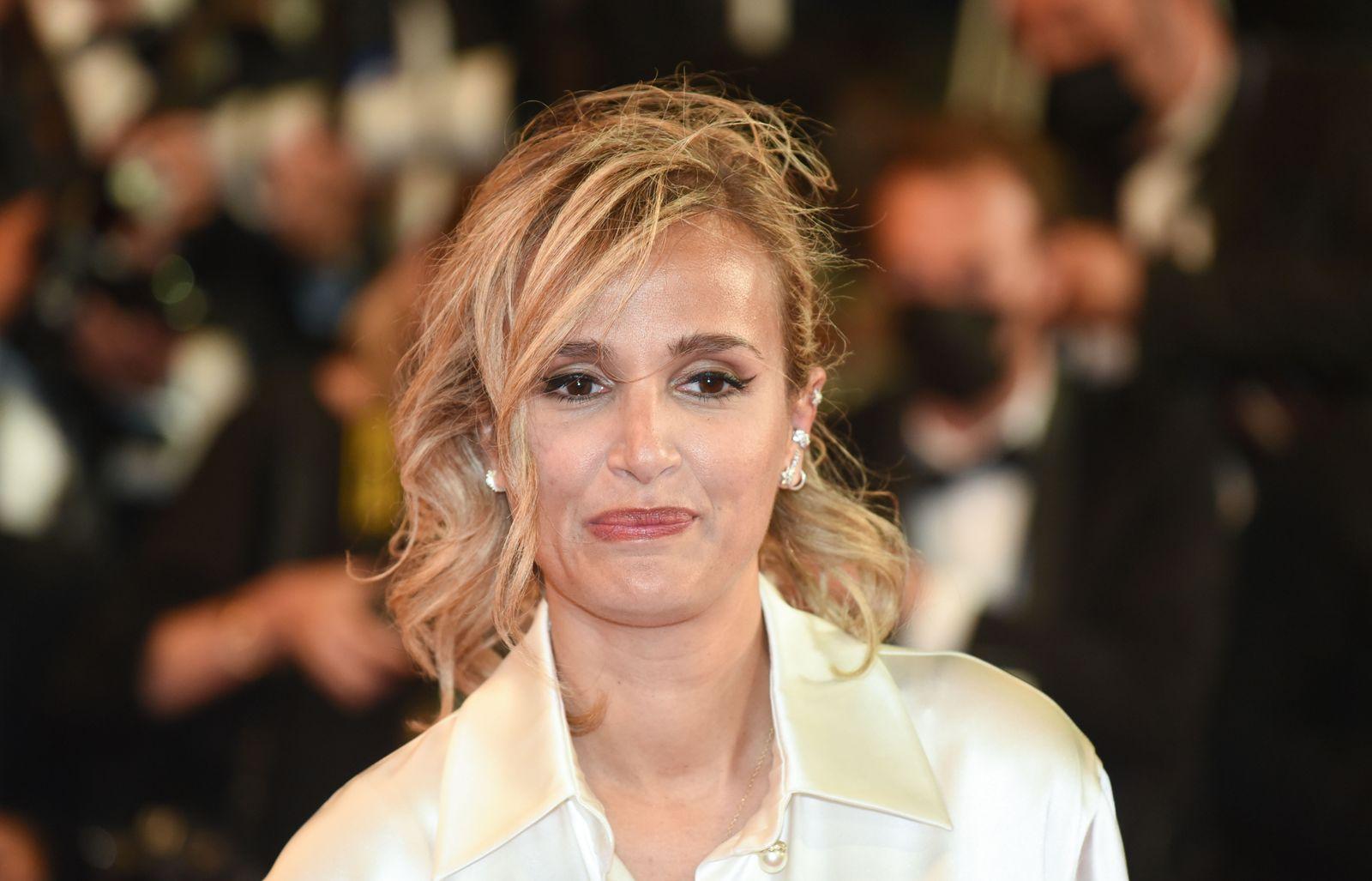 Julia Ducournau wins Palme d'Or for 'Titane'