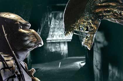 Alien (r.) contra Predator: Blutarme Paarungs-Posse