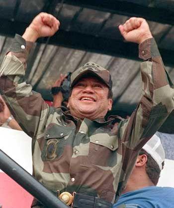 Rekrutierte von der Militärakademie seine Schergen: Panamas Diktator General Manuel Noriega