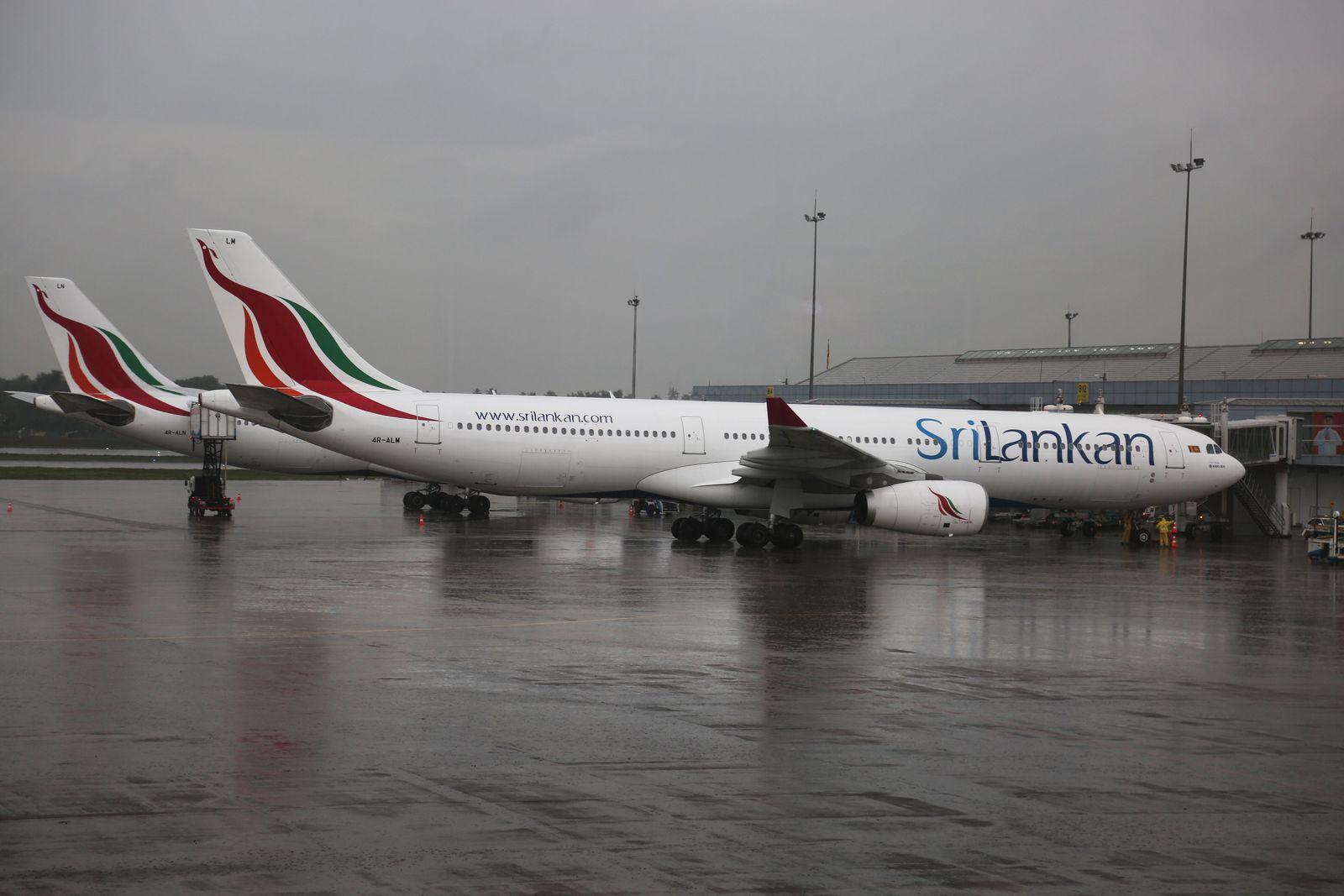 EINMALIGE VERWENDUNG Colombo Flughafen
