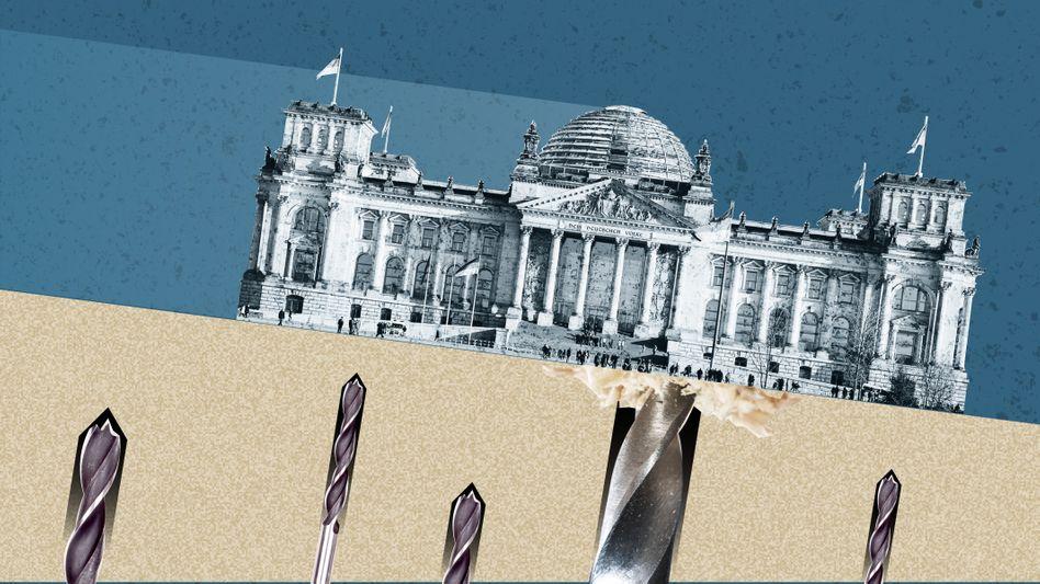 Angriff auf den Bundestag