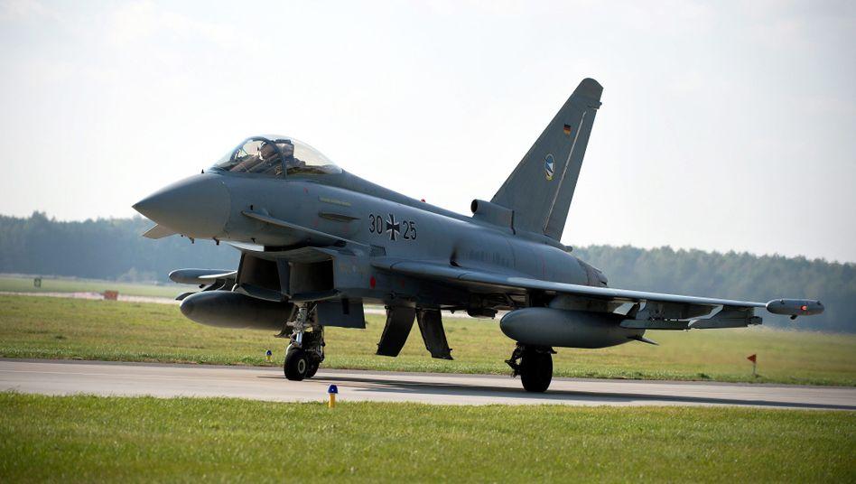 Airbus-Produkt Eurofighter (Archivbild)