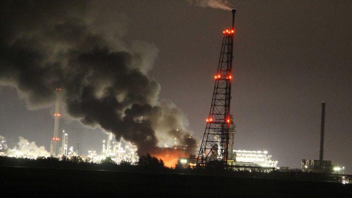 Niederlande: Brand in Chemiewerk