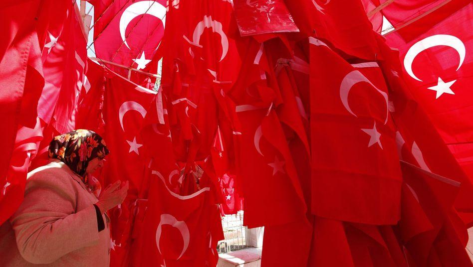 Türkische Flaggen: Die Beitrittsgespräche mit der EU laufen seit acht Jahren
