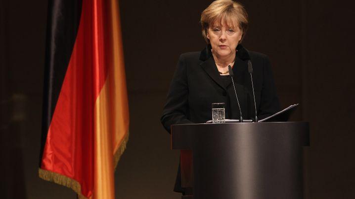 Gedenkfeier in Berlin: Staatsakt für Neonazi-Opfer