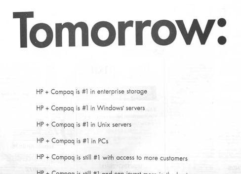 HP-Anzeige: Morgen, Kinder wird's was geben...