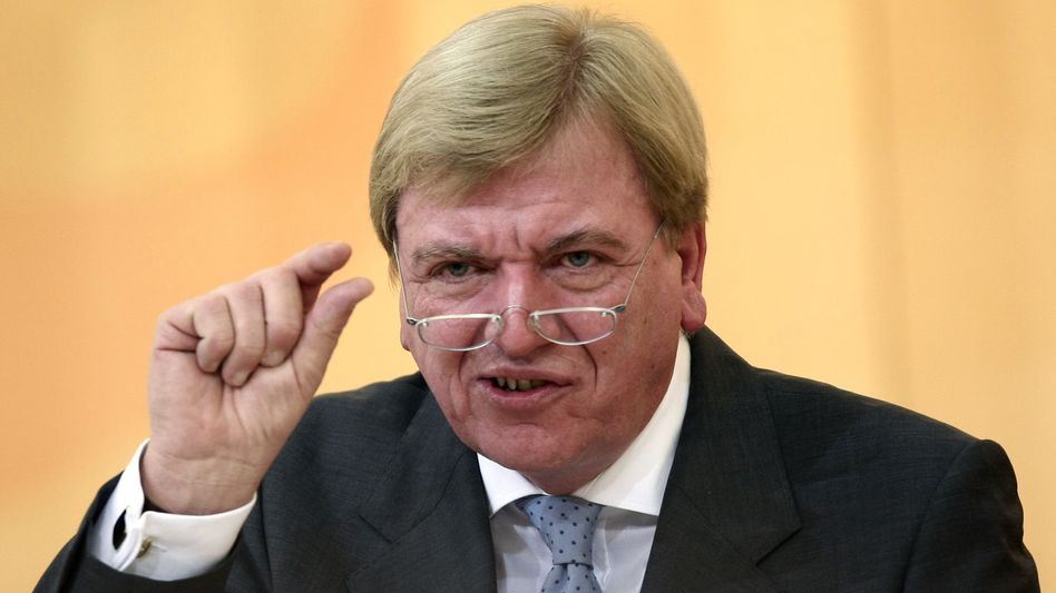 Hessens Ministerpräsident Bouffier: Zunächst den Haushalt in Ordnung bringen