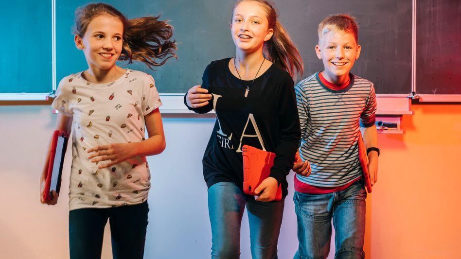 Schüler mit iPad im niedersächsischen Schneverdingen: Deutschland kann sich schlechte Schulen nicht leisten