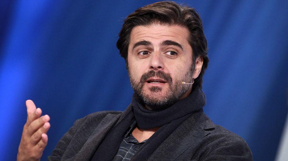 Juan Moreno (bei der Frankfurter Buchmesse)