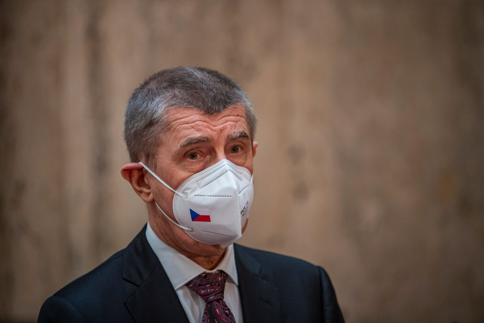 Newly appointed Czech Health Minister Arenberger press conference