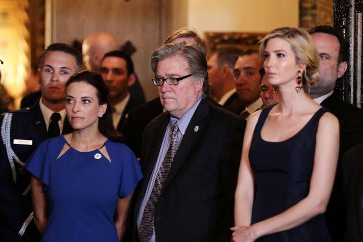Steve Bannon und Ivanka Trump
