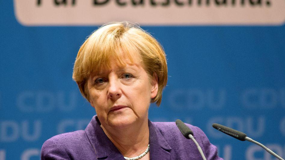 """Bundeskanzlerin Merkel: """"Die CDU wird das nicht von sich aus tun"""""""