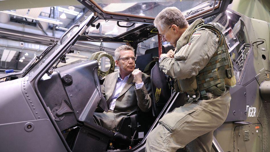 "Verteidigungsminister de Maizière: Kürzung nach ""Afghanistan-Schlüssel""?"