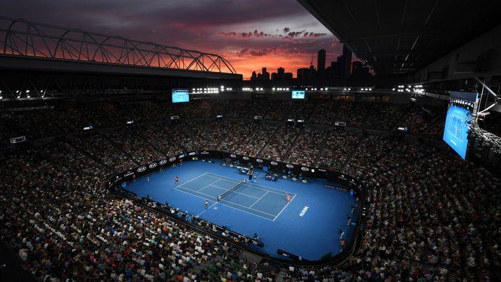 Die besten Bilder der Australian Open: Tränen in der Nacht