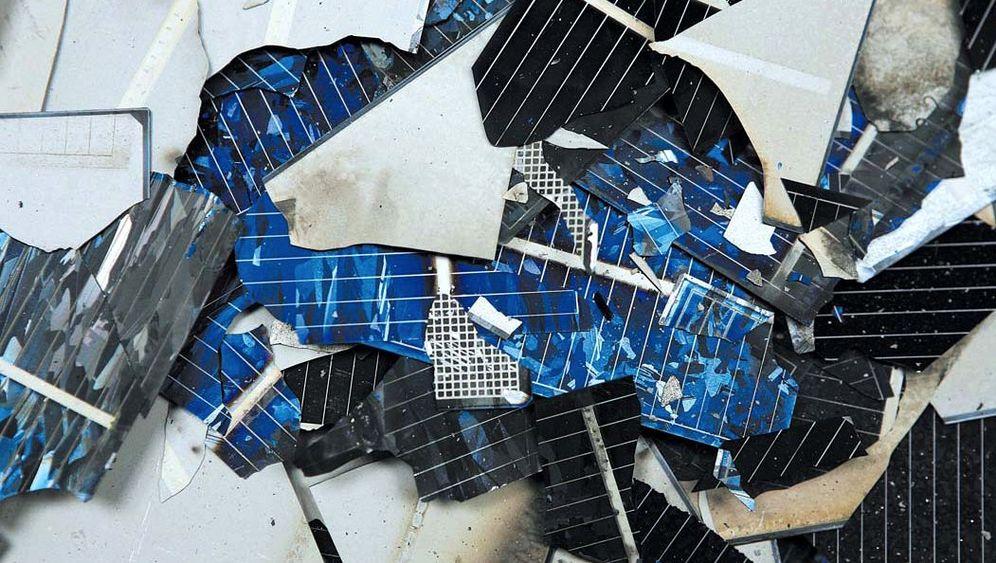 Recycling von Solarpanels: Streit über Müllmodule